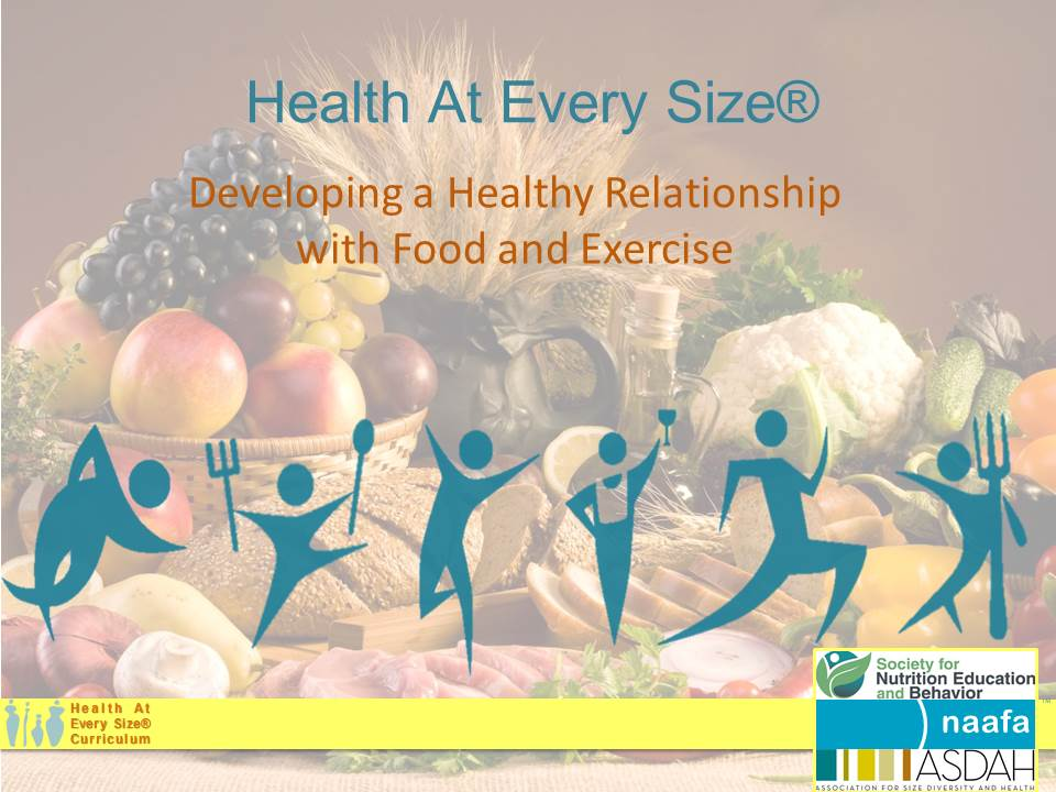 healthy relationship with food and exercise